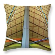 Operatic Bilateralism Throw Pillow