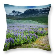 Endless Meadows Throw Pillow