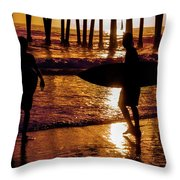 Endless Summer 3 Throw Pillow