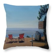 Endless View Boondocking At The Grand Canyon Throw Pillow