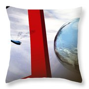 Endless Voyage Throw Pillow