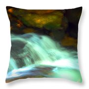 Endless Water Throw Pillow