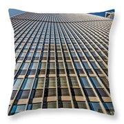 Endless Windows Throw Pillow