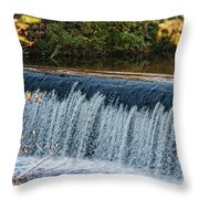 Endlessly Falling Throw Pillow