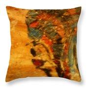 Ends - Tile Throw Pillow