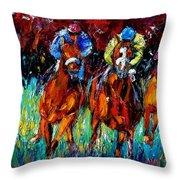 Endurance Throw Pillow by Debra Hurd