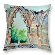 Enduring Artistry Throw Pillow