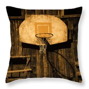 Enduring Echoes Throw Pillow