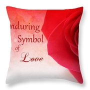 Enduring Symbol Of Love Throw Pillow