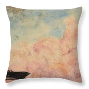 Enemy Of Nature Throw Pillow