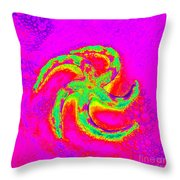 Energetic Bold Colors Starfish Throw Pillow