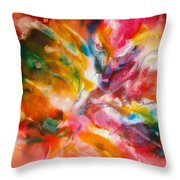 Energized - A - Throw Pillow