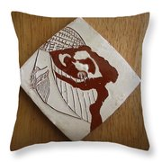 Energy - Tile Throw Pillow