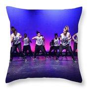 Energy 1 Throw Pillow