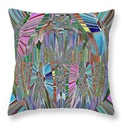 Energy 2 Throw Pillow