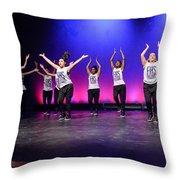 Energy 7 Throw Pillow