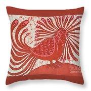 Energy Bird Throw Pillow