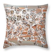 Energy Dance Throw Pillow