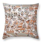 Energy Dance Throw Pillow