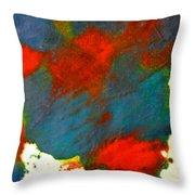Energy Field Throw Pillow