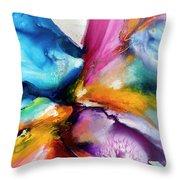 Energy Flow #5 Throw Pillow