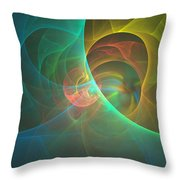 Energy Of The Good Throw Pillow