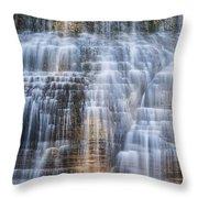 Lower Falls Cascade #1 Throw Pillow