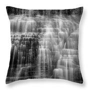 Lower Falls Cascade #2 Throw Pillow