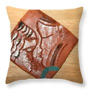 Engage - Tile Throw Pillow