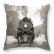 Engine 261 Throw Pillow