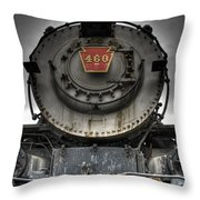 Engine 460 Front And Center Throw Pillow