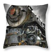 Engine 460 Throw Pillow
