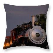 Engine 509 Throw Pillow