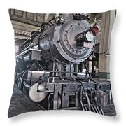 Engine 542 Embossed Throw Pillow
