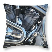 Engine Close-up 1 Throw Pillow