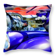 Engine Compartment 11 Throw Pillow