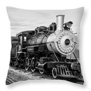 Engine Number 208 Throw Pillow