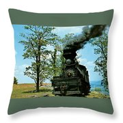 Engine Number 4 Throw Pillow