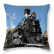 Engine Number 473 Throw Pillow
