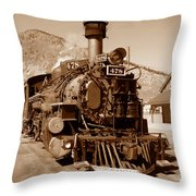 Engine Number 478 Throw Pillow