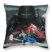Engine Two Vics Throw Pillow
