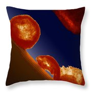 Engineering Nanoparticles For Strength Throw Pillow