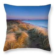 England, Northumberland, Blyth Throw Pillow