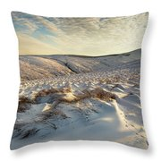 England, Northumberland, Harthope Valley Throw Pillow