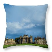 England, Northumberland, Seaton Delaval Hall Throw Pillow