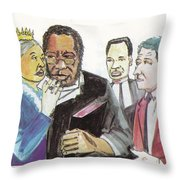 England Queen With Ajayi Crowther Throw Pillow