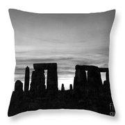 England: Stonehenge Throw Pillow