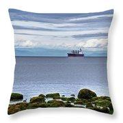 English Bay Throw Pillow