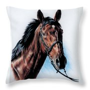 English Hunter Throw Pillow