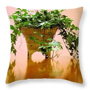 English Ivy Throw Pillow